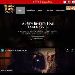 Factory of Terror - New England's #1 Haunted Attraction